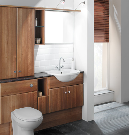 Beautiful Montrose Fitted Bathroom Furniture At The Crowborough Bath Shop