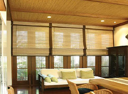Brand new bamboo blinds have the power to change your - Persianas de bambu ...